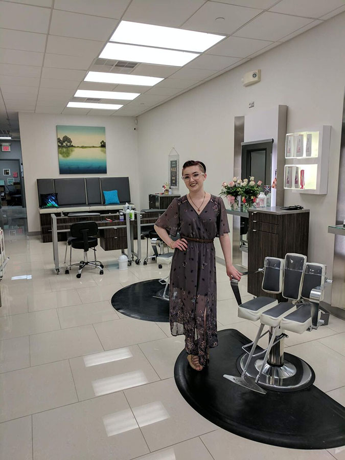 Dani clary sage salon spa for Sage salon